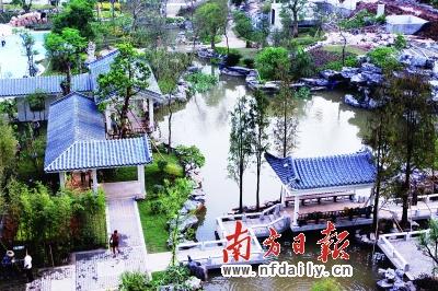首個別墅大盤,坐落于從化溫泉鎮旅游區內的流溪河畔
