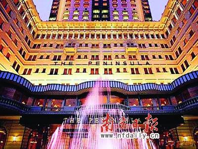 半岛是著名的奢华酒店品牌,上海半岛是半岛酒店旗下第九家酒店,但半岛