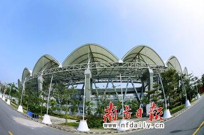 广州大学城中心体育场