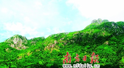 连山金子山:广东第八高岭南美女峰