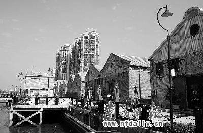 5年前,作为近代工业遗址的太古仓码头,被列为广州市文物保护单位,在图片