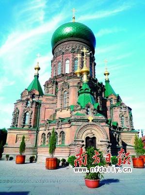 使索菲亚教堂成为哈尔滨建筑