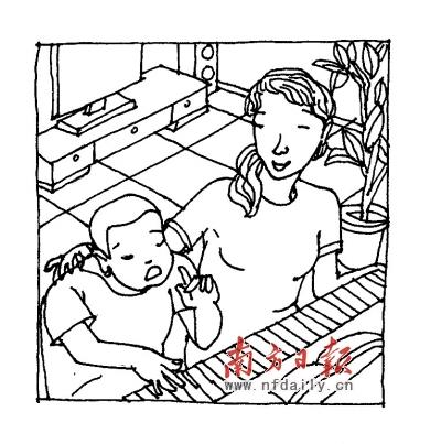 幼儿钢琴班海报 手绘