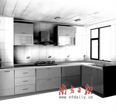 饭店厨房灶台设计