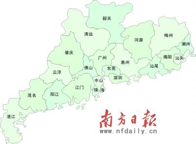 广东省城市天气预报