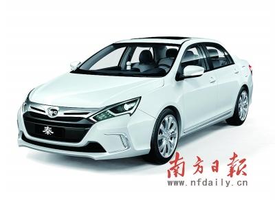 自主品牌新能源车型