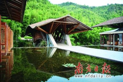 南昆山生态旅游区一景.
