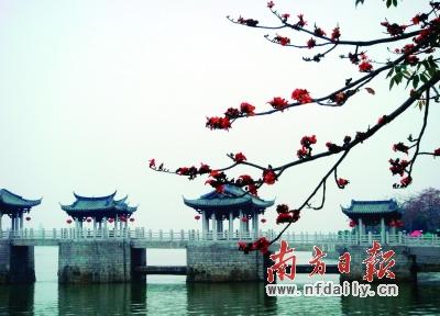 汕头觉石风景区图片
