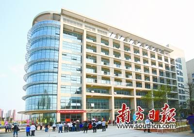 """19日,作为深圳市医疗卫生""""三名工程""""首个重大项目的南方医科大学"""