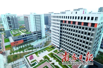 """""""上周,广东省首个市级人力资源服务产业园在绿岛湖举行了开园仪式"""