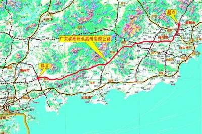 广东潮惠高速公路有限公司总经理余国红介绍,该项目是国家规划的