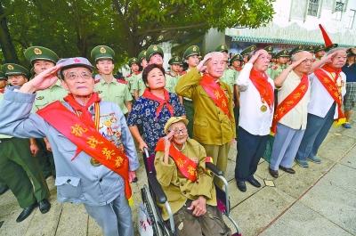 全国首家老战士纪念馆昨在深圳揭牌