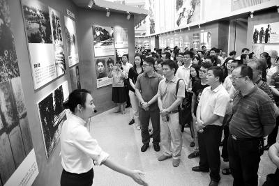 华南人民抗战历史图片展在穗落幕 上万人参观