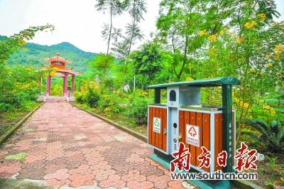 连州镇清运垃圾覆盖20个村(居)委会96个自然村,农村生活垃圾无害图片