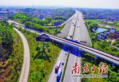 广清高速公路改扩建工程庆丰至