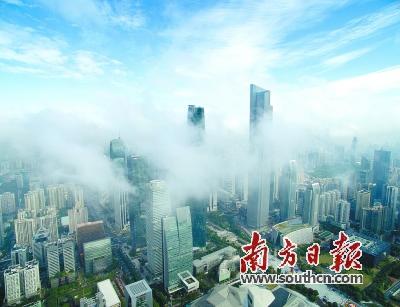 大广州还要提升国际范儿 2020年常住人口控制在1550万