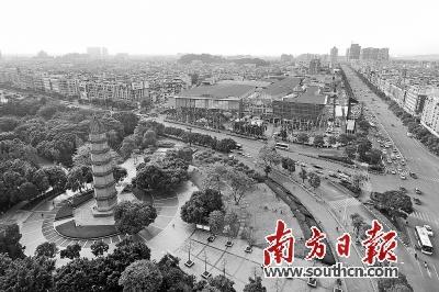 容桂文塔公园摄影
