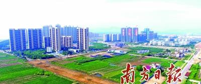 经过高端谋划,航空新城进入大规模的开发建设,并取得初步成效.