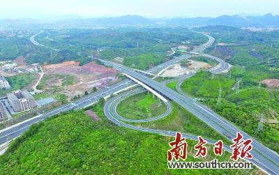 潮惠高速惠州段从莞高速惠州段 计划年内通车图片
