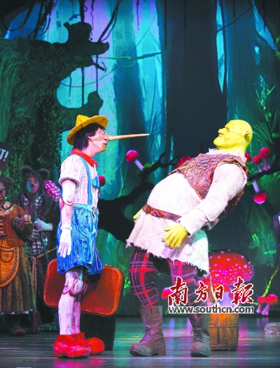 来自加拿大的亮晶晶木偶剧团就是二度登陆广州的剧