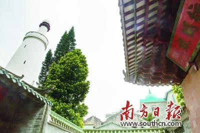 光塔曾为古代丝绸之路的灯塔