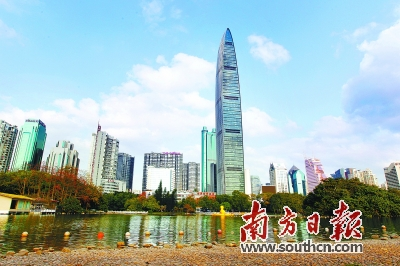 """深圳""""创投新贵""""是伴随着深圳经济结构的"""
