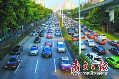 包括加快坂银通道,深华快速路,桂庙路快速化,沙河西路快速化改造等