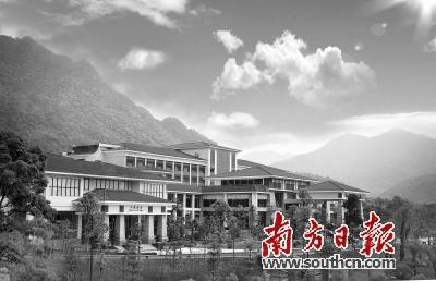 福建省大田华坑村风景