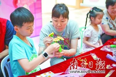 亲子手工制作母亲节礼物_第dc01版:东莞观察_ 2017-05