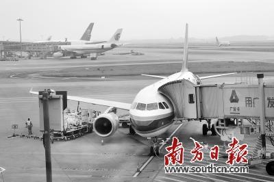 白云机场飞机起降架次达43