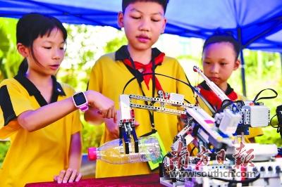 包括2017年越秀区青少年纸飞机比赛,2017年越秀区中小学生环保演讲