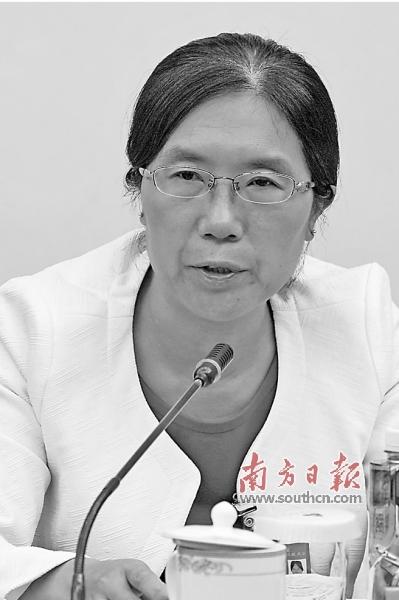 张恒珍代表.南方日报特派记者图片