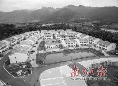 中国南方乡村小镇风景