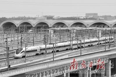 佛山西站运营以来到发旅客约83万人次