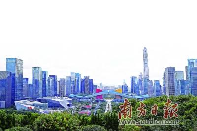 南方日报记者 李斌     编制目标     明确深圳未来的城市发展