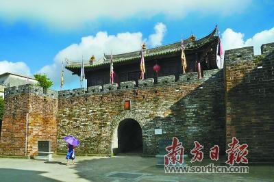 """四区,六园""""体系     除了加强保护,再现大鹏所城历史风貌之外,华侨城图片"""