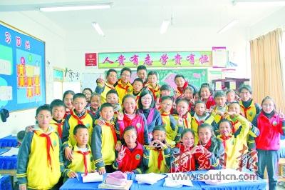鹤山二中两位女教师接力援藏支教