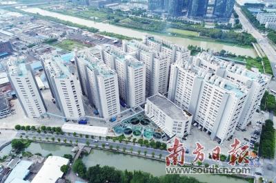 改造后的容桂恒鼎工业园成为了村级工业园改造的成功案例.图片