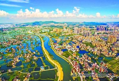鹤山古劳水乡景区是江门推进乡村振兴的成果之一.梁建华 摄