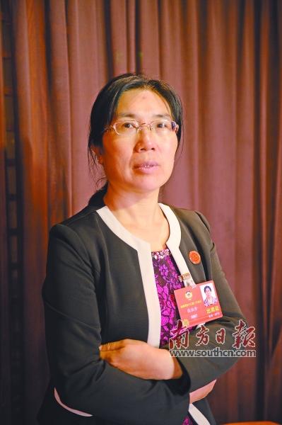 全国政协委员张恒珍. 南方日报特派记者 李细华 摄图片