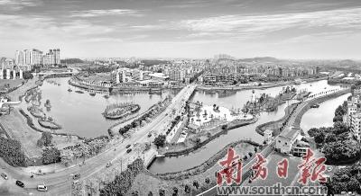 28日上午,2018广州国际投资年会花都推介会召开.图片