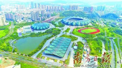 深圳湾超级总部基地,香蜜湖新金融中心,海洋新城,光明科学城,大运新城