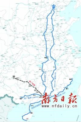 广州到贵阳仅需5个钟