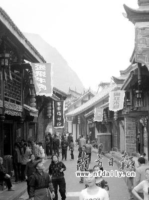 将打造川西民居古镇老街,让这里成为羌藏回族风情的寻幽之地.