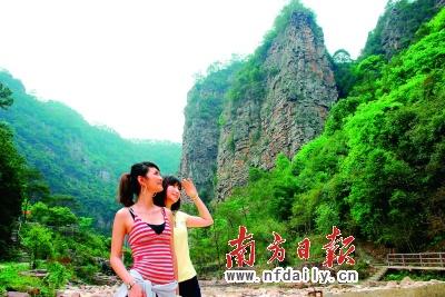 3d立体岭南风景画面