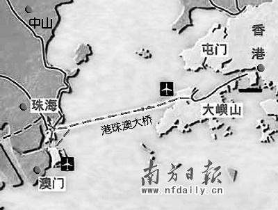 广州,珠海等地的高速公路