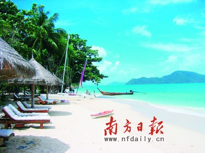 普吉岛的酒店主要集中在三处海滩